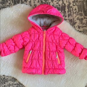 2 for $12 - Pink Carters winter coat - 18 mo